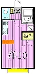 パークプログレス竹の塚A[1階]の間取り