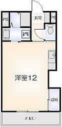 モデルナマンションIII[302号室]の間取り