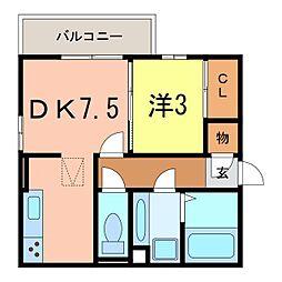 仮)D-room知立市池端3丁目[1051号室]の間取り