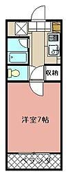 VIVA前田[205号室]の間取り