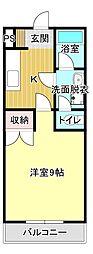 シャイニング2000[4階]の間取り