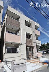 愛知県名古屋市熱田区八番2丁目の賃貸アパートの外観