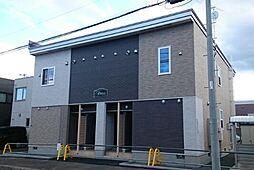 北海道札幌市手稲区新発寒四条6丁目の賃貸アパートの外観
