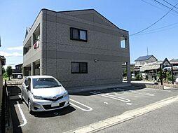 愛知県清須市西市場1丁目の賃貸アパートの外観