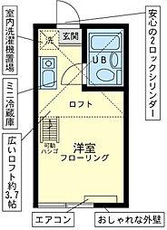 ユナイトステージ 六浦壱番館[1階]の間取り
