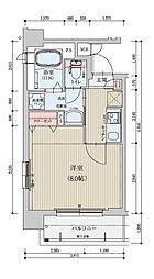 ベラジオ京都烏丸十条[302号室]の間取り