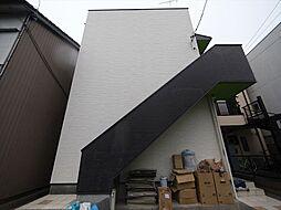愛知県名古屋市中村区名楽町2丁目の賃貸アパートの外観