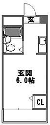 エステートプラザ塚本[2階]の間取り