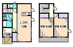 [テラスハウス] 東京都西東京市西原町3丁目 の賃貸【/】の間取り