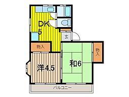 メゾン鈴木[2階]の間取り