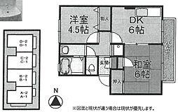 ドルフ武庫[D1-105号室]の間取り
