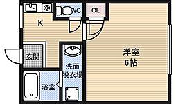 ADVANCE1[1階]の間取り