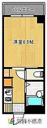 ブリックハウスII[202号室]の間取り