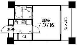 HF梅田レジデンスTOWER[707号室]の間取り
