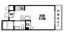 フレアコート新大阪[9階]の間取り