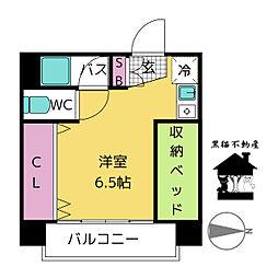 大須レジデンス[5階]の間取り