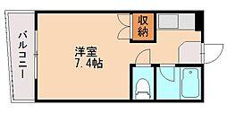 スカイマンション松山[1階]の間取り