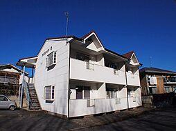 栃木県宇都宮市緑4丁目の賃貸アパートの外観