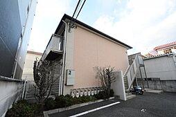 兵庫県伊丹市南本町2丁目の賃貸アパートの外観