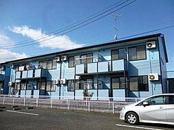 茨城県筑西市布川の賃貸アパートの外観