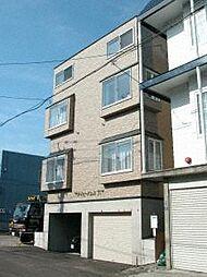 北海道札幌市白石区菊水七条1丁目の賃貸アパートの外観