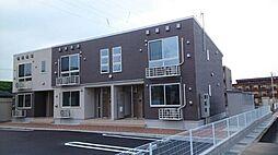 富山県富山市八尾町福島7丁目の賃貸アパートの外観