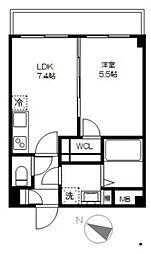 ヴェラータ桜山[3階]の間取り