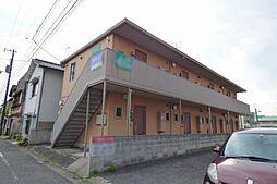 岡山県岡山市北区山科町の賃貸アパートの外観