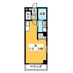 ベラジオ[5階]の間取り