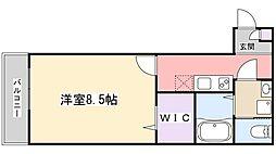 AJ津田沼III[101号室]の間取り