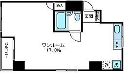 ブルンネン半蔵門[4階]の間取り