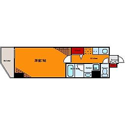 プレール・ドゥーク押上II[4階]の間取り