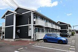 富山県富山市中冨居新町の賃貸アパートの外観