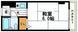 トーエー第3ビル[3階]の間取り