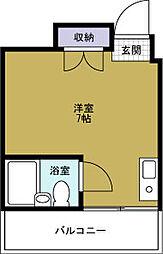 ノーブル1[4階]の間取り