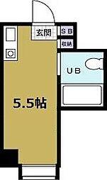 ジオナ本田[4階]の間取り