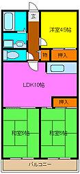 グランドメゾン浅田[4階]の間取り