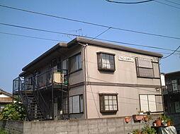 ファミーユ田中A棟[201号室]の外観
