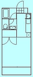 ホープ・ディーワイ[2階]の間取り