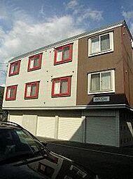 北海道札幌市東区北十一条東15丁目の賃貸アパートの外観