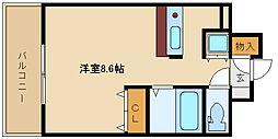 兵庫県尼崎市南塚口町1丁目の賃貸マンションの間取り