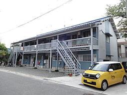 大阪府富田林市寿町2丁目の賃貸アパートの外観