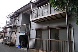 栃木県日光市森友の賃貸アパートの外観
