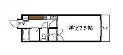 ベルトピア宮崎4[501号号室]の間取り