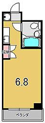 プラネシア京都[3階]の間取り