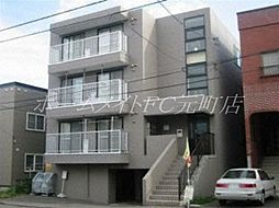 北海道札幌市白石区本通2丁目南の賃貸マンションの外観