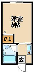 ポコアポコ西明石メゾン[3階]の間取り