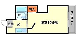 トゥリオーニ守口[3階]の間取り