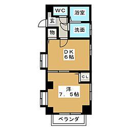 メゾンTAKAGI[2階]の間取り