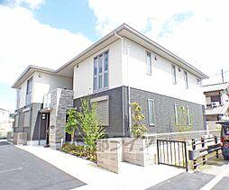 京都府京都市北区西賀茂山ノ森町の賃貸アパートの外観